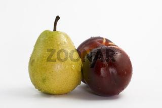 Birne und Nektarinen - Pear and Nectarines