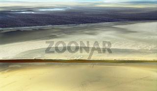Ocean at low tide