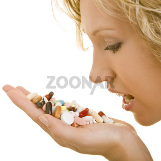 Viele Pillen
