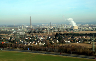 Aerial Picture Of Industry / Industrie Luftaufnahme