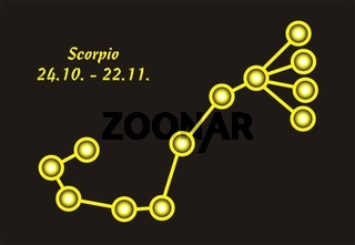 Sign of the zodiac scorpio
