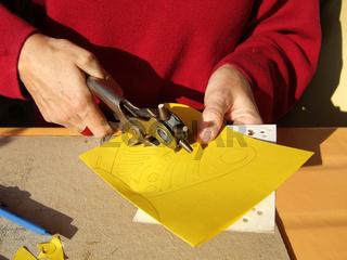 Schmetterlinge aus Papier, Butterflies of paper