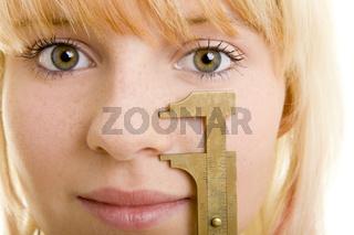 Maße der Nase