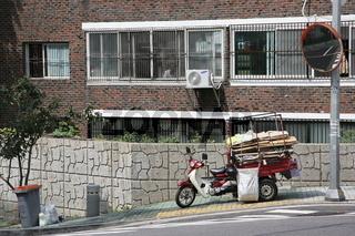 Seoul Road Scene