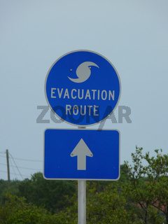 Rettungsweg - Evacuation Route