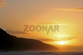 Sonnenaufgang Südafrika, Tsitsikamma Nationalpark