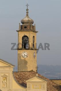 Kirchturm, Sacro Monte di Crea, Piemonte