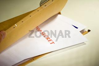 Top secret documents