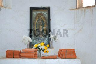 Church, Baranca del Cobre, Mexico