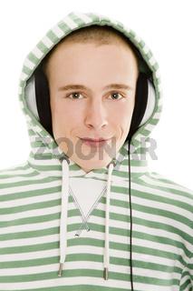 Kopfhörer-Portrait