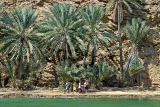 Im Wadi Shab, Oman
