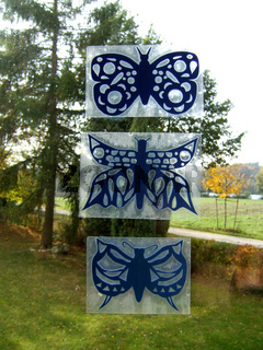 Schmetterlinge aus Papier, Butterflies of paper