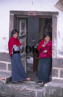 Indiofrauen in Quito