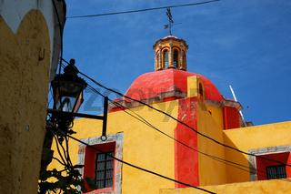 Church in Guanajuato, Mexico