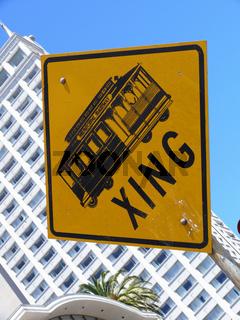 Cable Car Kreuzung - crossing
