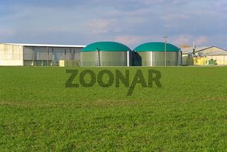 Biogasanlage 02