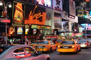 Abends am Broadway
