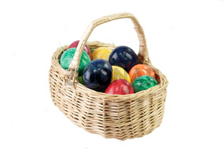 Bunter Osterkorb - Colorful Easter Basket