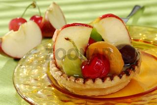 Obstmix-Törtchen