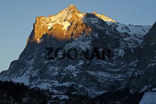 Abendlicht in den Alpen
