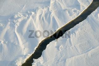 Eis auf der Ostsee am Polarkreis - Ice on the Baltic Sea at the polar circle