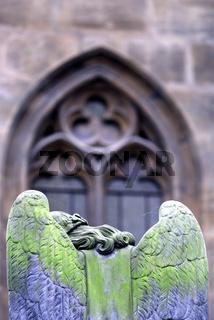 Engel, Friedhof in Prag, Angel, cemetery in Prague