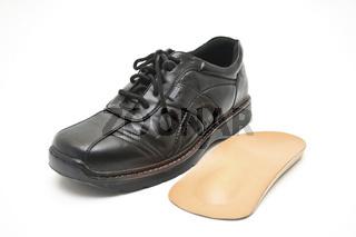 Schuh mit Einlage