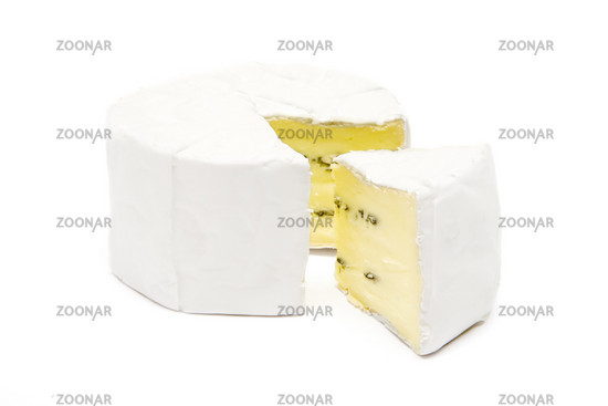 Geschnittener Camembert