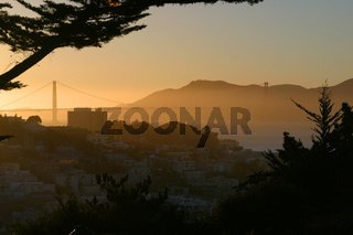 Sunny Golden Gate