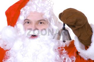 Weihnachtsmann mit Glöckchen