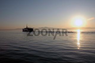 Sonnenaufgang auf dem Marmarameer
