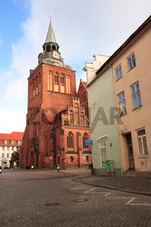 Guestrow in Mecklenburg-Vorpommern, Deutschland, Germany