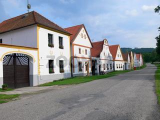 Dorf in Boehmen Holasovice