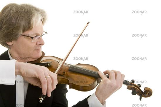 Elegantes Violinenspiel