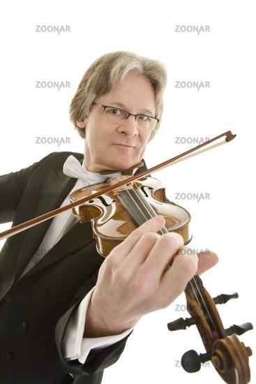 Musizieren mit Violine