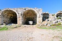 Barrel vault Stadium Roman Perge