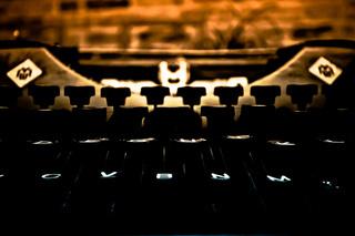 Schreibmaschinen Tastatur alt