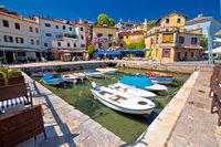Idyllic mediterranean waterfront in Volosko village