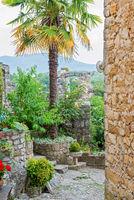 Ancient buildings in Croatia