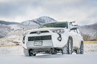 Toyota 4Runner SUV on a dirt road