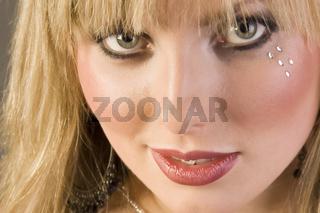 Junge blonde Frau erotisch, young blonde woman