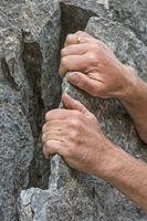 Piaz technique on a rock scale