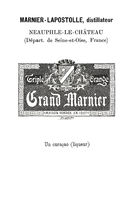 Historich trademark for the liqueur Grand Marnier Triple Orangefrom 1894