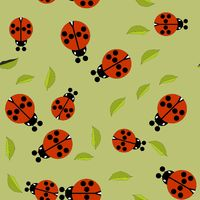 Beetle insect seamless pattern 674