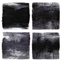 Black grunge squares