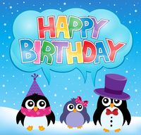 Party penguin theme image 6