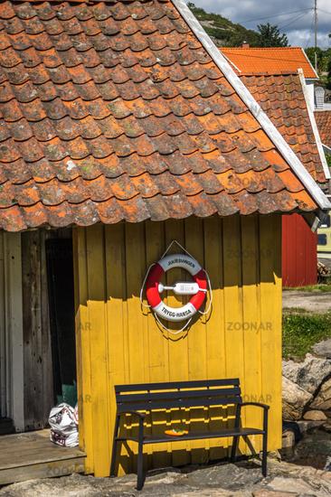 The Norwegian south coast