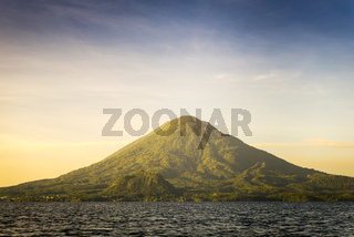 Volcano Toliman On Lake Atitlan