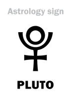 Astrology: planet PLUTO