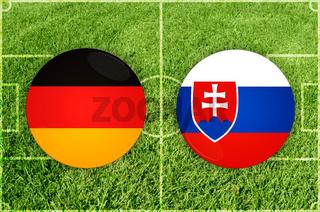 Germany vs Slovakia